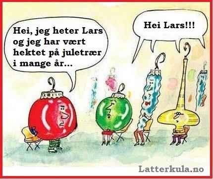 Anonyme julepynt - Latterkula